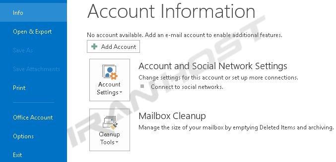 چگونه Outlook 2010 و Outlook 2013 را تنظیم کنیم؟